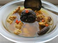 薑黃香菇雞湯