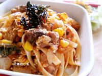 茄汁鯖魚什錦燴麵