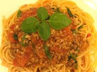 台式番茄肉醬義大利麵