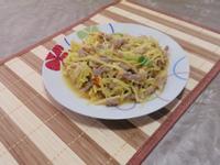 韭黃炒肉絲