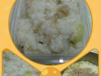 """【寶寶副食品】""""菜瓜鮪魚粥"""""""