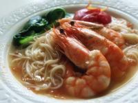 番茄鮮蝦煨麵[五木拉麵]