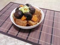 燉滷香菇油豆腐