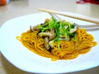 【超清爽】茶油野菇薑黃麵線