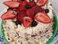 草莓布丁鮮奶油蛋糕