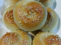 優格巧克力地瓜田螺麵包~中種法