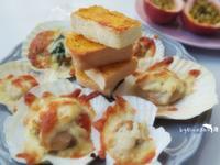 起司焗烤扇貝