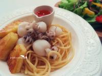 泰式花枝冷麵沙拉
