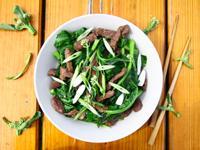 芥藍蠔油牛肉