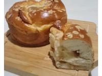 花生皇冠麵包