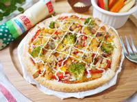 創意鮪魚吐司披薩【滿分早點X桂冠沙拉】
