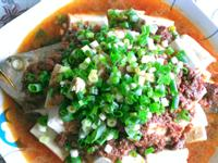 微波料理~麻婆黃魚