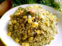 香椿玉米炒飯(蔬食版)
