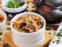 櫻花蝦野菇炊飯_淬釀懷石的秋季