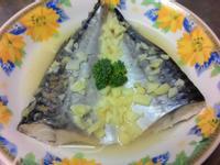 檸檬蒸鯖魚(電鍋版)