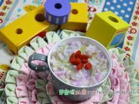 素食副食品分享-紫山藥粥