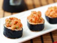 [大同電鍋] 辣鮭魚泡菜捲