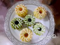 白巧克力豆腐甜甜圈(原味/抹茶)