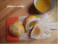 ♥我的手作料理♥ 芋泥蛋黃酥