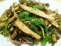 筊白炒三絲(無油乾煎 健康又美味)