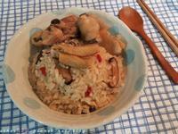 麻油雞飯  staub鑄鐵鍋