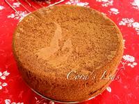 可可香草海綿蛋糕