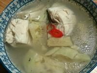 西瓜綿虱目魚湯