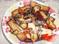 丁香魚炒豆乾