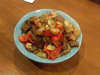 🍴蒜片黑椒炒牛肉
