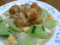 油條鹹蛋絲瓜