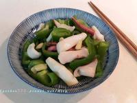 青椒炒花枝