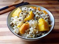 豆香地瓜飯(電鍋版)