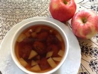 土式發奶湯2---杏乾蘋果甜湯
