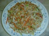 涼拌雞肉高麗菜絲