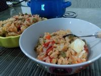 親子電鍋飯(雞肉&蛋)