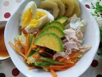 健康輕食 ~ 酪梨雞絲蔬菜沙拉