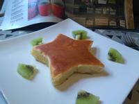 星星厚鬆餅(蛋模製作)
