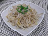 涼拌黑胡椒豆芽