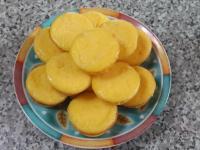 黃金橘蜜乳酪球~