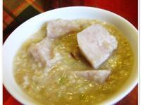 芋頭糙米鹹粥