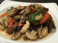 橄欖油清炒蘑菇香菇