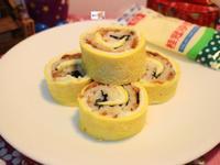 雙色蛋皮肉鬆壽司 【滿分早點X桂冠沙拉】