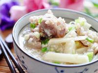 [大同電鍋] 鮮筍香菇排骨養生粥