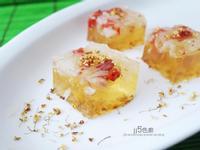 柚子枸杞桂花糕