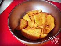 [Hawk媽私房菜] 地瓜薯片(烤箱版)