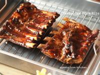 [yummy] 豪邁碳烤美式豬肋排!