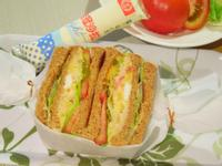 地瓜鮪魚沙拉三明治【滿分早點X桂冠沙拉】
