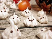 【萬聖節🎃】可愛白幽靈 - 蛋白糖霜