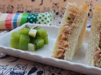 鮪魚沙拉三明治【滿分早點X桂冠沙拉】