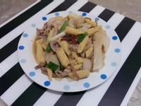 玉米筍洋蔥炒肉絲